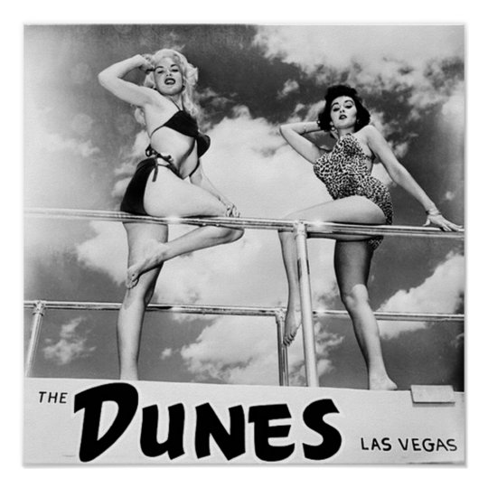 The Dunes Las Vegas Poster