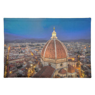 The Duomo in Florence, Italy Placemat