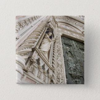 The Duomo Santa Maria Del Fiore Florence Italy 15 Cm Square Badge
