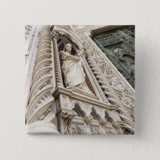 The Duomo Santa Maria Del Fiore Florence Italy 2 15 Cm Square Badge