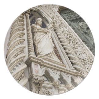 The Duomo Santa Maria Del Fiore Florence Italy 2 Plate
