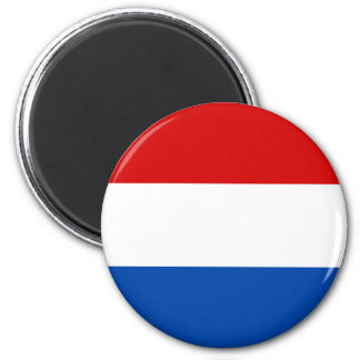 The Dutch Flag 6 Cm Round Magnet