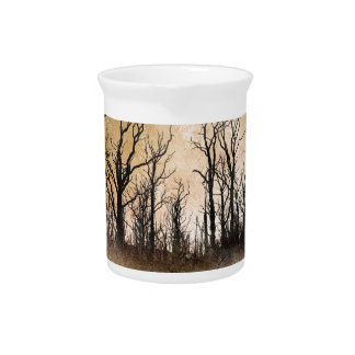 The Dying Trees Beverage Pitchers