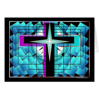 """""""The Dynamic Cross"""" All Purpose Gallery Card"""