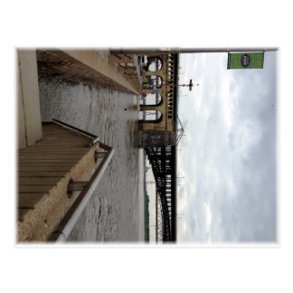 The Eads Bridge, Postcard