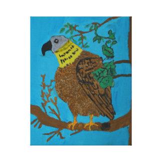The eagle canvas print