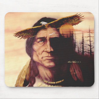 The Eagle flies Mouse Pad