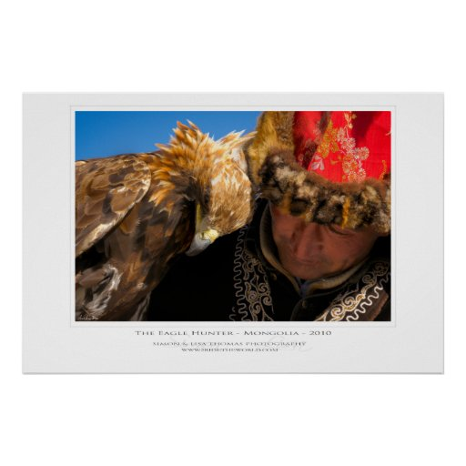The Eagle Hunter Print