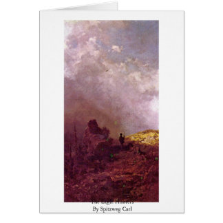 The Eagle Hunters By Spitzweg Carl Greeting Card