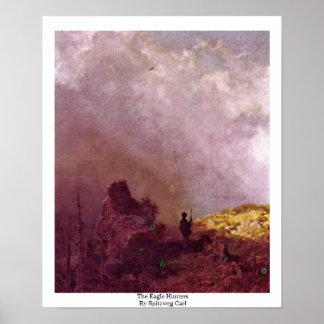 The Eagle Hunters By Spitzweg Carl Print
