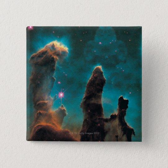 The Eagle Nebula 15 Cm Square Badge