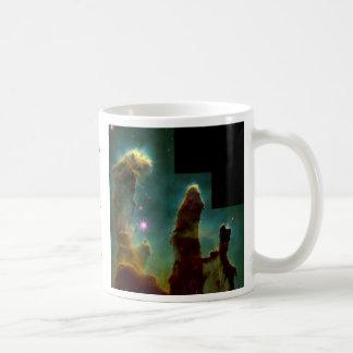 The Eagle Nebula Basic White Mug
