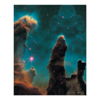The Eagle Nebula Poster