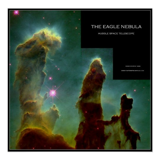 The Eagle Nebula - Posters From Space