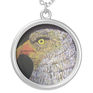 The Eagle Round Pendant Necklace
