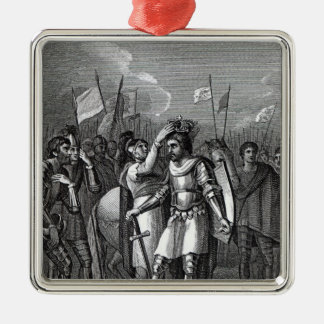 The Earl of Richmond chosen King Christmas Ornament