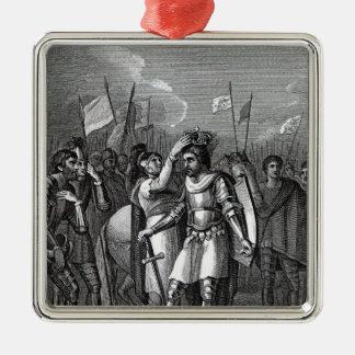 The Earl of Richmond chosen King Christmas Ornament