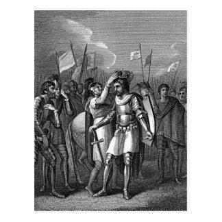 The Earl of Richmond chosen King Postcard
