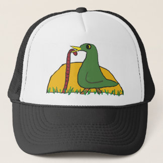 The Early Bird Catches the Worm 2 Trucker Hat
