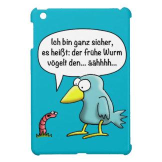 The early worm vögelt… iPad mini case
