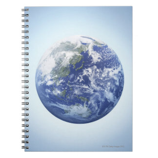 The Earth 10 Spiral Notebook