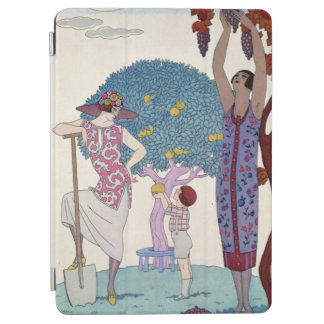 The Earth, 1925 (colour litho) iPad Air Cover