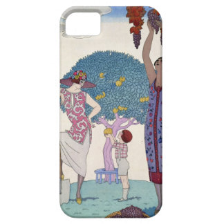 The Earth, 1925 (colour litho) iPhone 5 Case