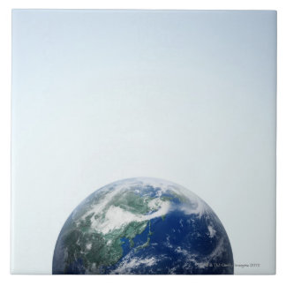 The Earth 7 Large Square Tile