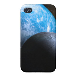 The Earth and Moon Covers For iPhone 4