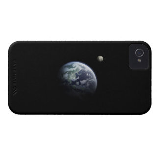 The Earth and Moon iPhone 4 Case-Mate Case