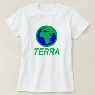 The Earth and text: Earth in Galician T-Shirt