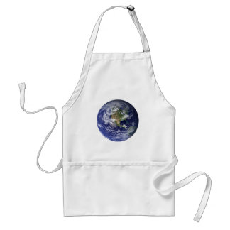 The Earth From Space Apron