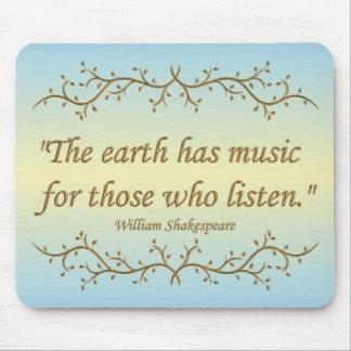 The Earth Has Music Mousepad