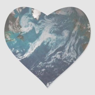 The Earth Heart Sticker
