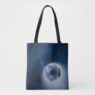 The Earth in Space Tote Bag
