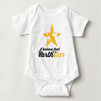 The earth is a Star! Baby Bodysuit