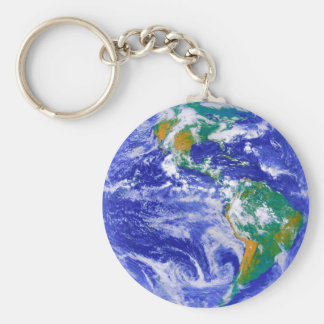 The Earth - Our Home Keychain