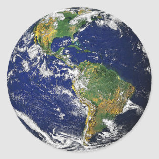 The Earth, South America Sticker