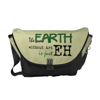 The Earth Without Art Commuter Bag