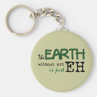 The Earth Without Art Key Ring