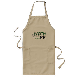 The Earth Without Art Long Apron