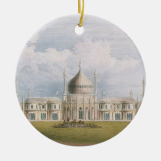 The East Front, from 'Views of the Royal Pavilion, Christmas Ornament