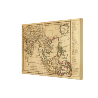 The East India Canvas Print