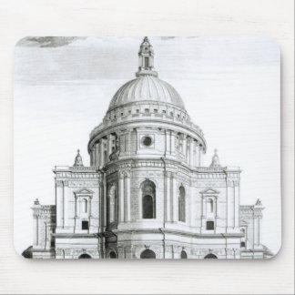 The East Prospect of St. Paul's Cathedral Mouse Mat