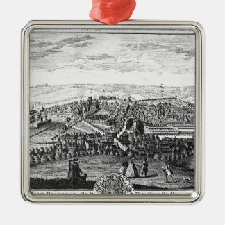 The East Prospect of the City of Winchester Christmas Ornament