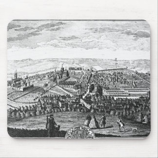 The East Prospect of the City of Winchester Mouse Pad