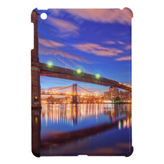 The East River, Brooklyn Bridge, Manhattan Case For The iPad Mini