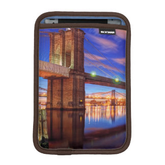 The East River, Brooklyn Bridge, Manhattan iPad Mini Sleeve