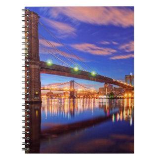 The East River, Brooklyn Bridge, Manhattan Notebooks