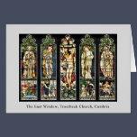 The East Window, Troutbeck Church, Cumbria Card